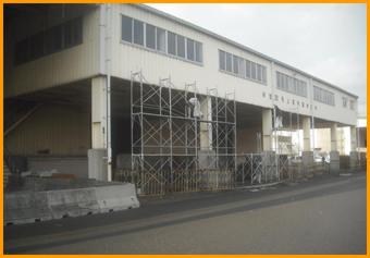 堺泉北港泉北7区泉北19号上屋屋根補修工事イメージ