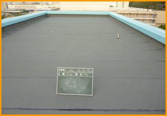 泉ヶ丘市民センター屋上防水改修工事イメージ